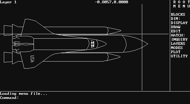 Okno AutoCAD'a wersja 2 (Shaan Hurley) http://autodesk.blogs.com/between_the_lines/2018/02/throwback-thursdayspace-shuttle-sample-drawings.html